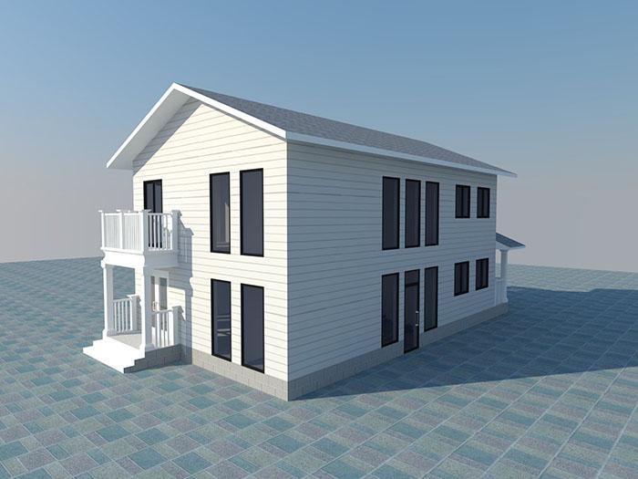轻钢别墅比传统砖混结构房屋使用寿命长