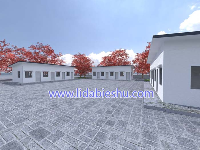非洲住房-中式风格-60㎡