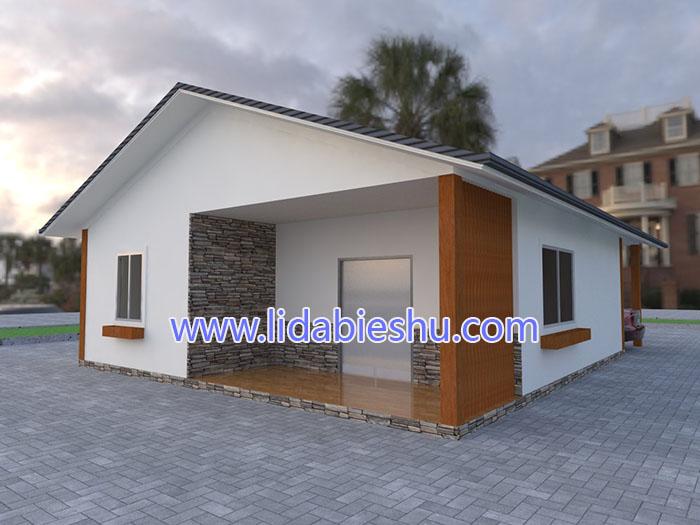 非洲住房-中式风格-88㎡