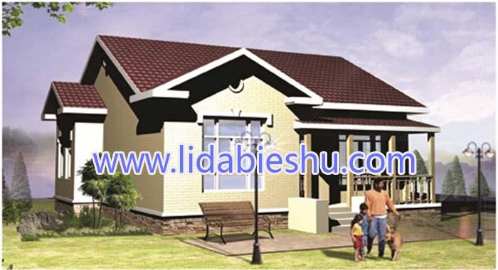 非洲别墅二-中式风格-95㎡