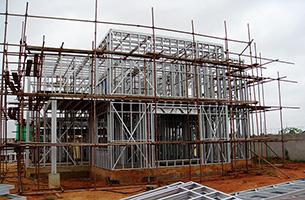 利达安哥拉轻钢别墅项目