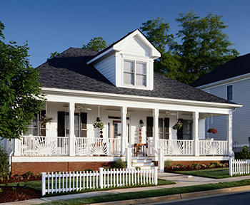 北美风格轻钢别墅